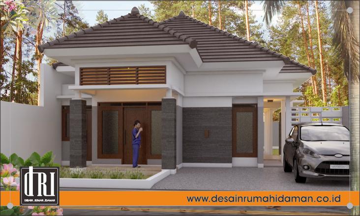 Desain Rumah Style Bali Modern Di Pamulang Desain Rumah Idaman