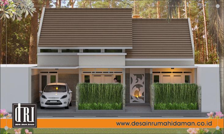 Renovasi Rumah Modern Minimalis sederhana di Tangerang