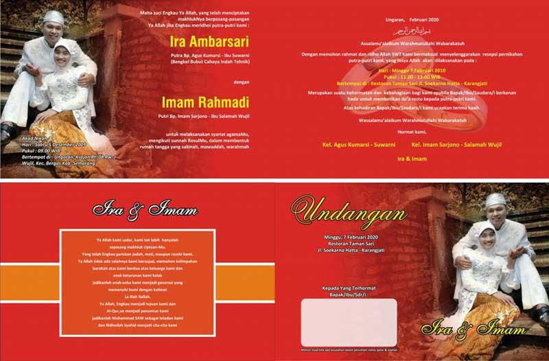 Download Gratis Desain Undangan Pernikahan Unik Btpast