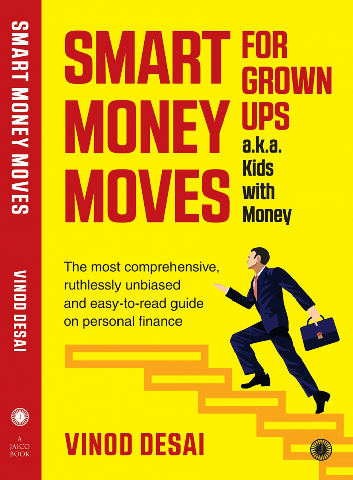 Smart Money Moves - Book on Investing And Finances By Author Vinod Desai