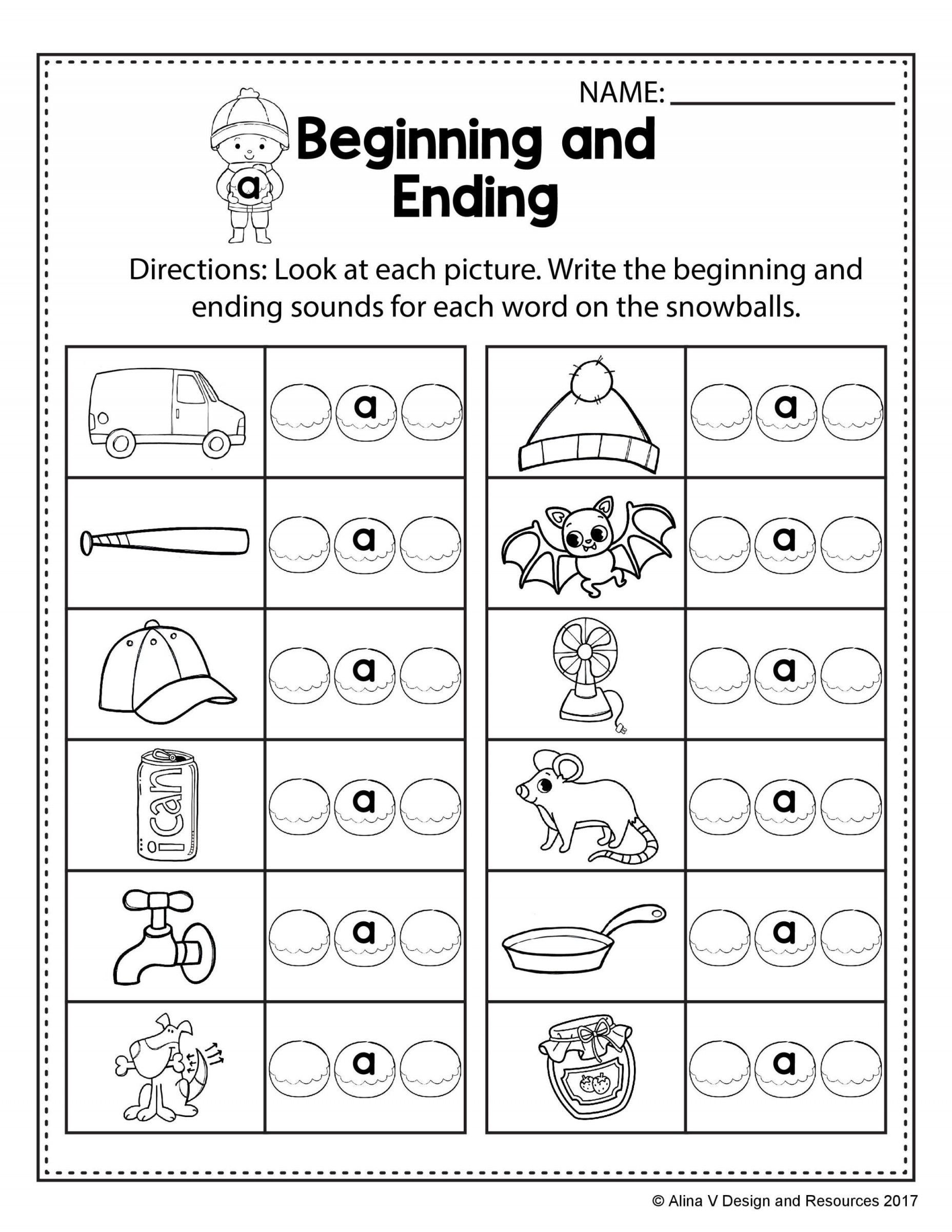 20 Cvc Worksheet Kindergarten