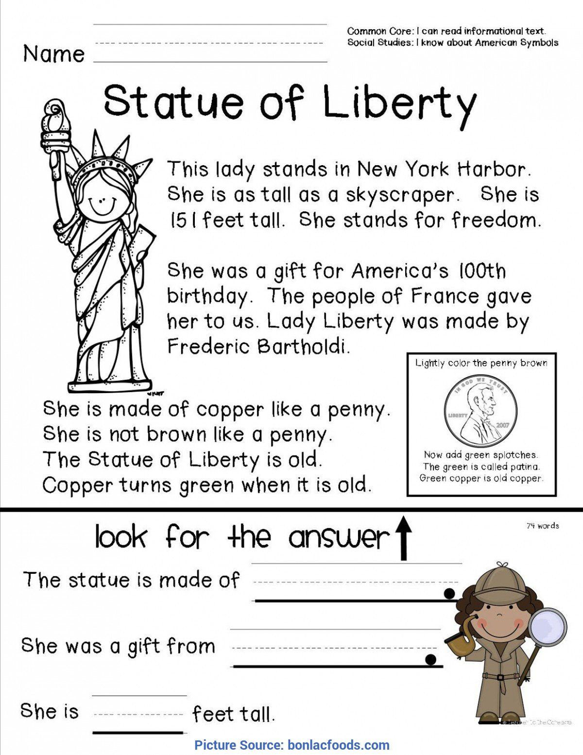 20 History Worksheets For 2nd Grade