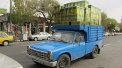 Pick-up typique de l'Iran