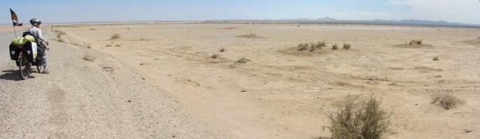 Le desert sur des centaines de km