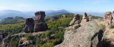 Formations rocheuses aux formes étranges