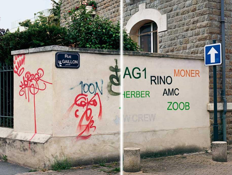 Make Complex Simple: Graffiti as Design