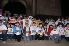Mayo del 2011: Primera Marcha Nacional de Madre buscando a sus hijos e hijas en la Ciudad de México.