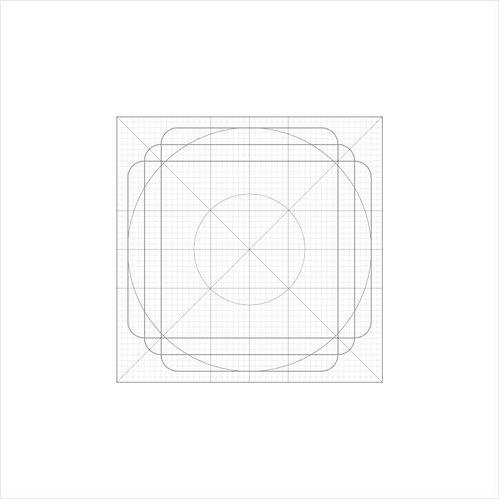 grid icon material design