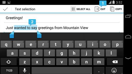 campos de texto edit texts edittext android