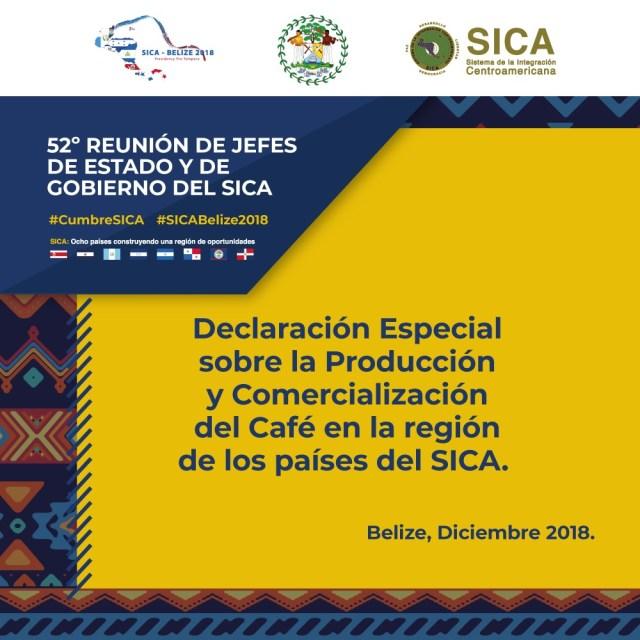 SICA busca mejores precios para el café y fortalecer el sector en la región
