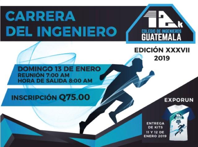 Este domingo 13 se realizará la Carrera del Ingeniero