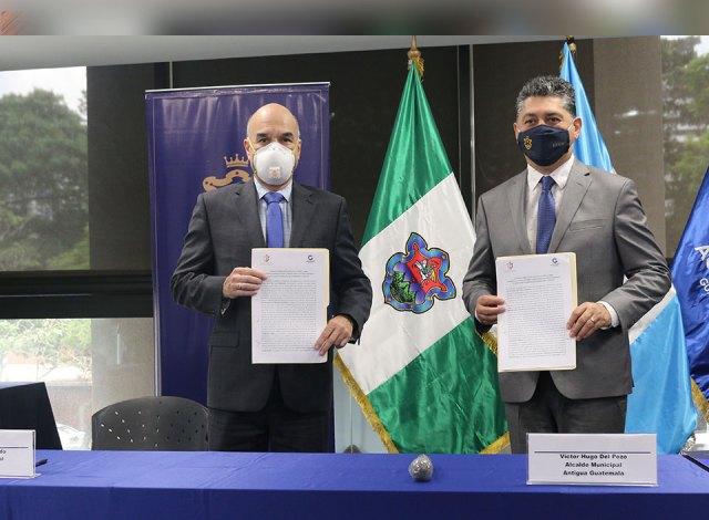 AGEXPORT y Municipalidad de Antigua Guatemala unen esfuerzos para fortalecer sectores productivos de la región post COVID-19