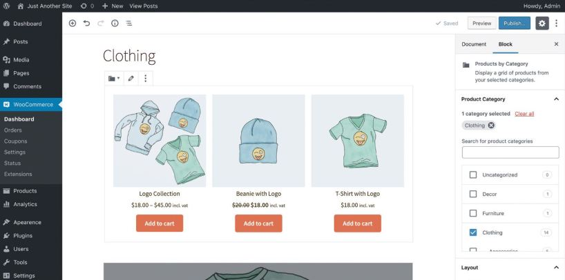 Web a medida personalizada con Woocommerce