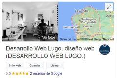 Desarrollo Web Lugo Google My Bussines