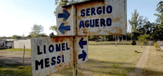 """Una plazoleta lleva el nombre del """"Pocho"""" Ezequiel Lavezzi."""
