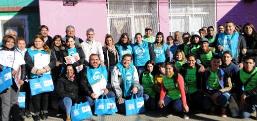 El Plan Abre Familia llegó al barrio Costa Esperanza