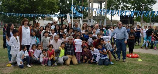 """La plaza de Pavón y Chubut se llama ahora """"Juanito Laguna"""""""