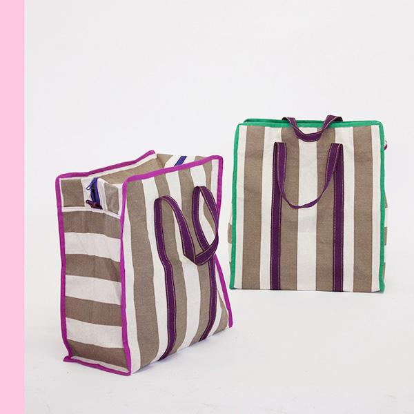 Borsa shopper -tela- sdraio-hometextiles-homeware-lifestyle-slow-fashion-design