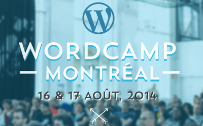 We will be at WordCamp Montreal