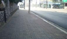 Ótimas calçadas de trechos da Celso Garcia