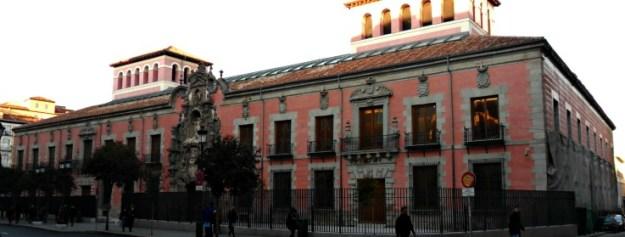 History Museum of Madrid (Spain), under renovation.