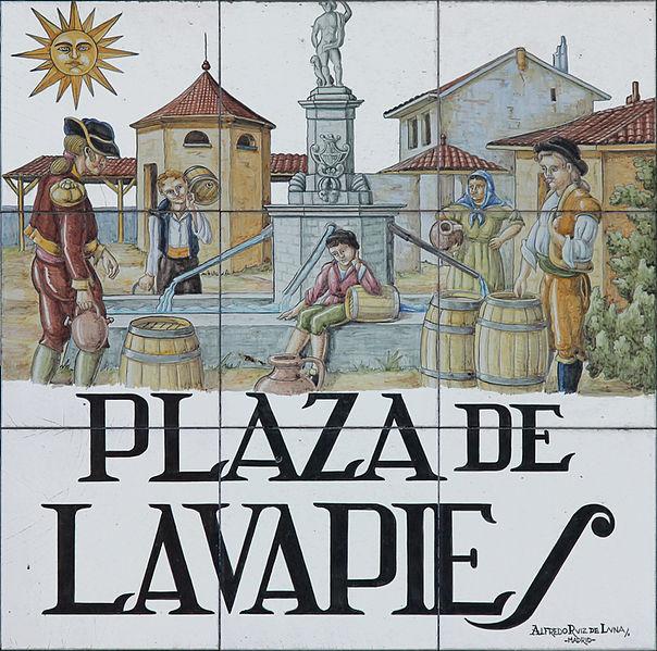 Plaza de Lavapiés praça curiosidades madrid o que ver em madrid