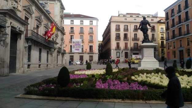 Plaza de la villa madrid