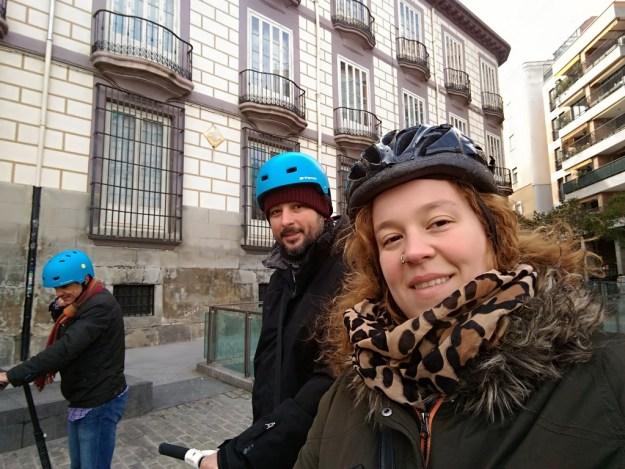 Selfie na Plaza de Ramales