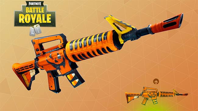 Lista De Armas De Fortnite Battle Royale