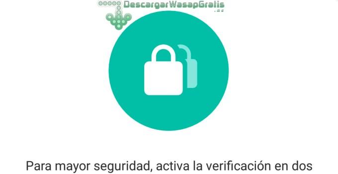 verificación en dos pasos