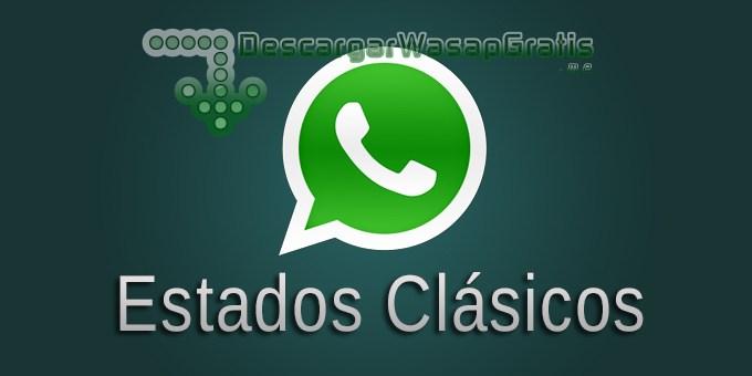 Estados clásicos de WhatsApp
