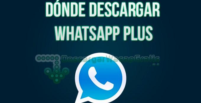 Dónde descargar WhatsApp Plus