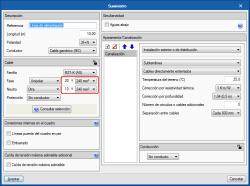 CYPELEC Core y CYPELEC REBT. Ampliación del número de ternas o número de conductores por polo