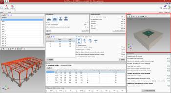 StruBIM Anchors ACI-318. Vista 3D de la unión