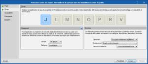 CYPEFIRE Design. Établissements recevant du public, ERP (Francia)