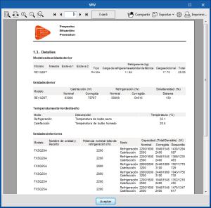 Open BIM DAIKIN. Cálculo de refrigerante adicional en sistemas VRV