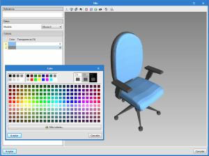 Open BIM Office Furniture. Mobiliario para proyectos de oficinas
