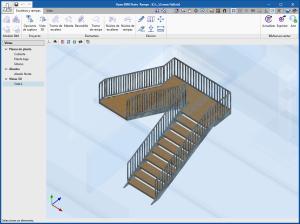 Open BIM Stairs & Ramps. Modelado arquitectónico de escaleras y rampas