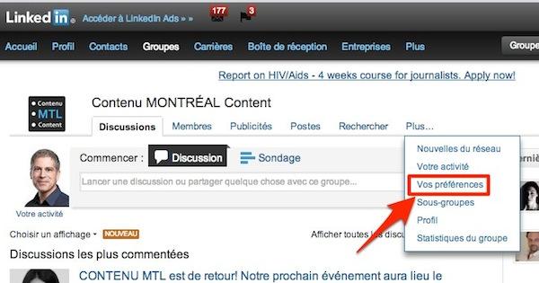 linkedin groupe abonnement 2 Linkedin: comment se désabonner dun groupe