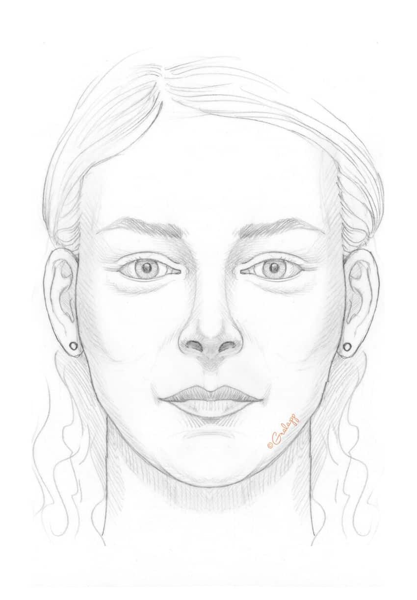 Cheek enhancement. Female face. Image credit: Chris Gralapp