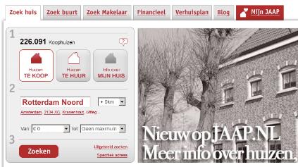 Nieuw jasje voor Jaap.nl
