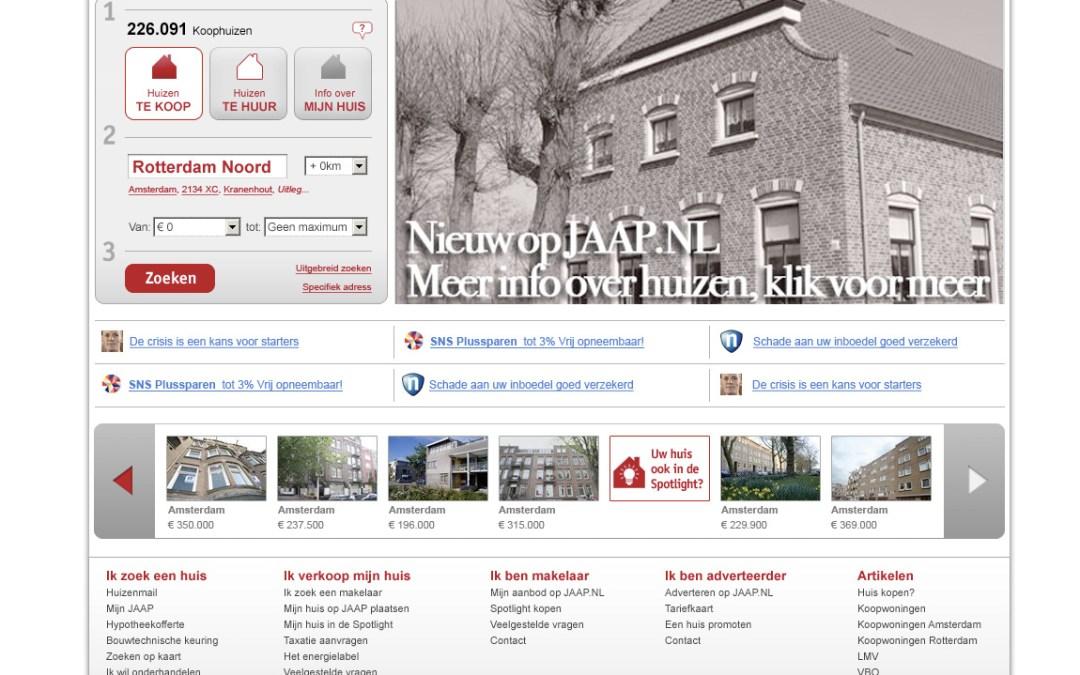Nieuw design voor Jaap.nl onder de loep
