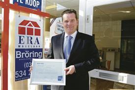 Geert Broring slaagt voor praktijktoets