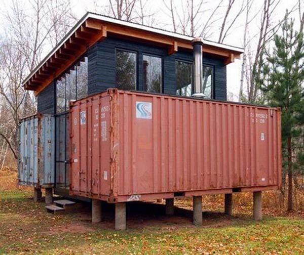 3x recycling huis