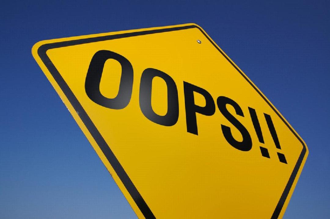 Oops - 8 vaak gemaakte fouten op websites van makelaars