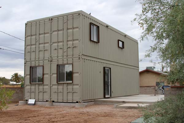 elementaire containerwoning