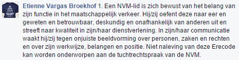 Citaat NVM erecode mbt de Makelaarsland reclame - 1