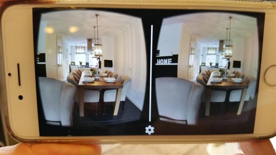 Zo ziet een 3d foto er op de telefoon uit