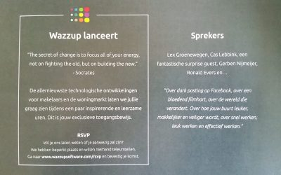 Wat is Wazzup van plan?