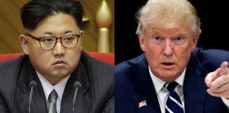 El dictador norcoreano Kim Jong-un y el presidente estadounidense Donald Trump